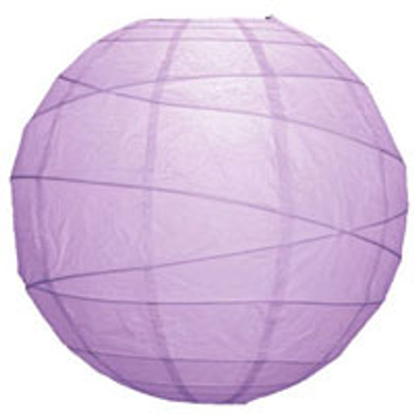 Lilac Purple Paper Lantern 10 in.