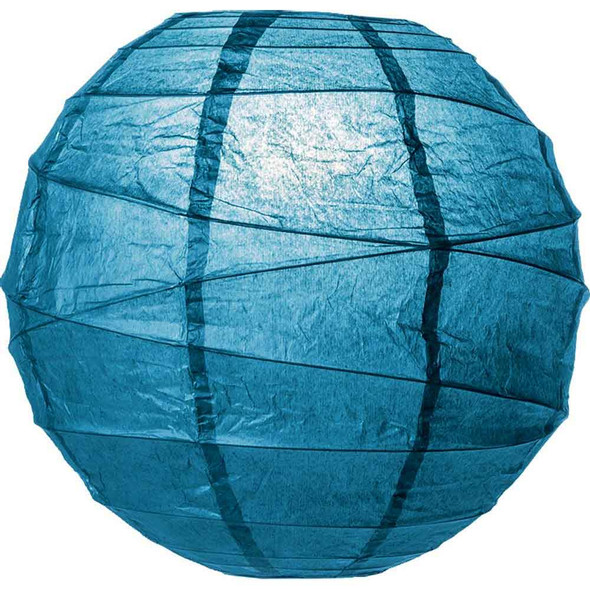 Lapis Blue Paper Lantern 10 in.