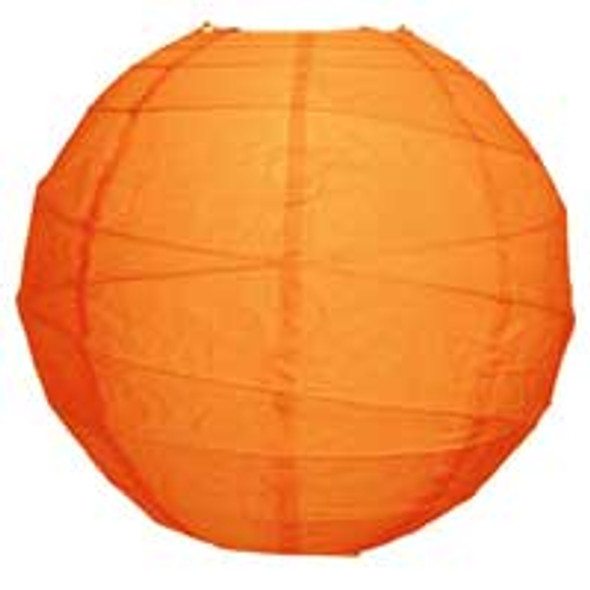 Mango Orange Paper Lantern 10 in.
