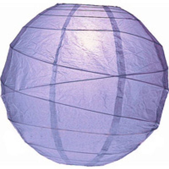 Periwinkle Purple Paper Lantern 10 in.