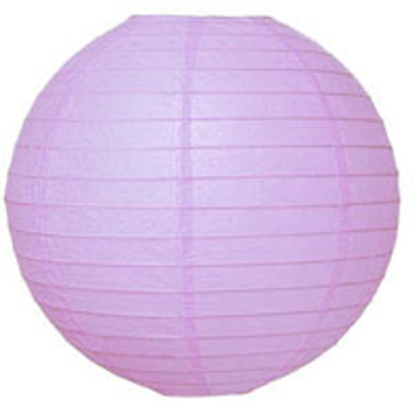 Lilac Paper Lantern 12 in.