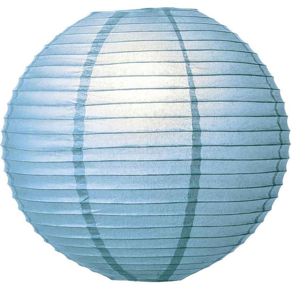 Wedgwood Blue Paper Lantern 12 in.