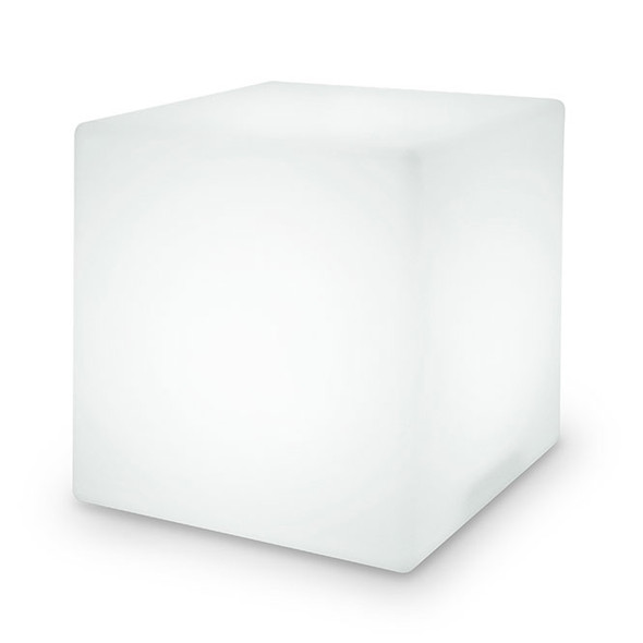 "8"" LED Color Changing Light Cube unlit"