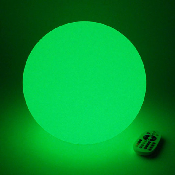 LED Light Orb lit green