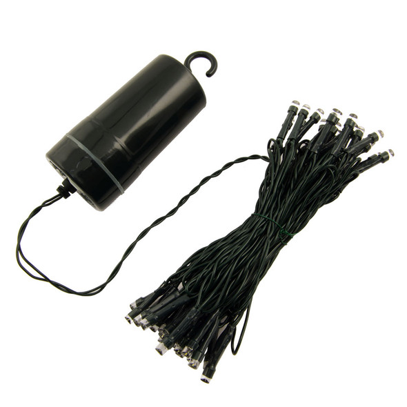 Battery Operated  50 LED String Light Set (full cord)