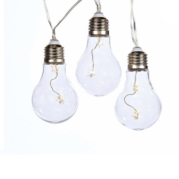 Edison Style Battery Operated String Lights