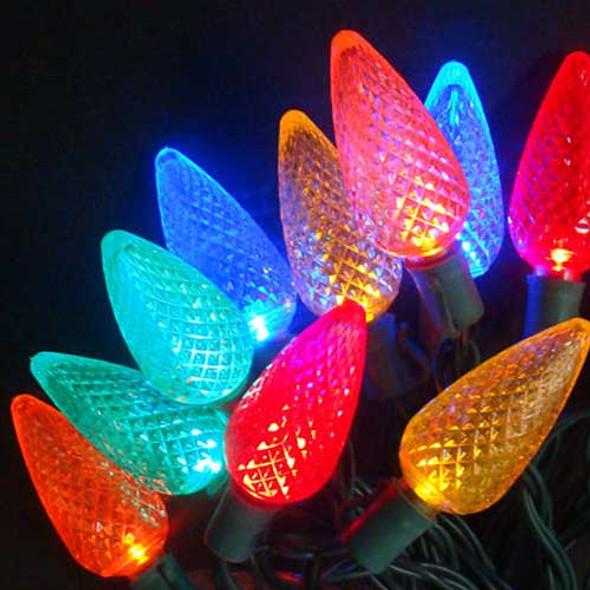C9 LED Mini Lights, Multi Color