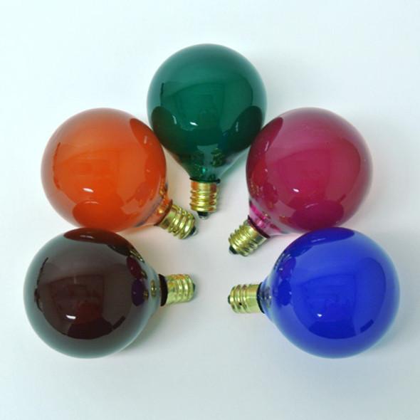 G50 Multi Satin Bulbs - C7 Base unlit