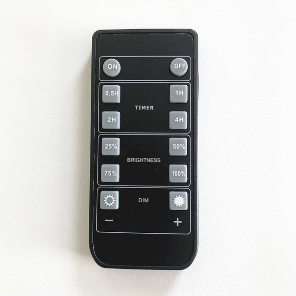 LED Compatible Dimmer & Timer Remote