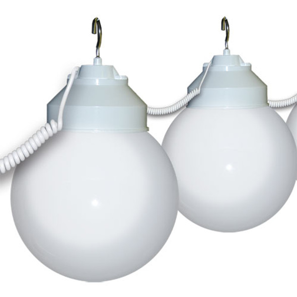 White Awning Lights