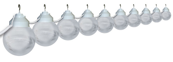 White Awning Lights - 10 lights