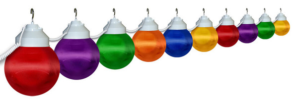 Multi Color Awning Lights - 10 lights