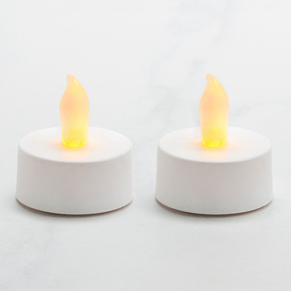 Battery Operated Tea Light - White