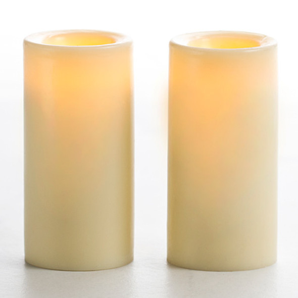 Battery Operated Votive Candle - Cream