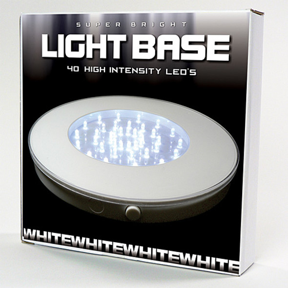 "10"" Light Base, White (package)"