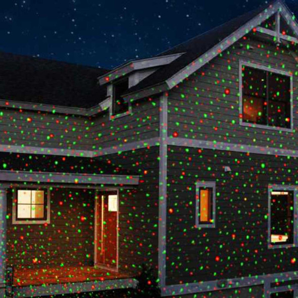 Laser Projection Light House Display