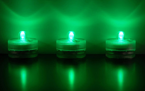 LED Submersible Floralyte, green