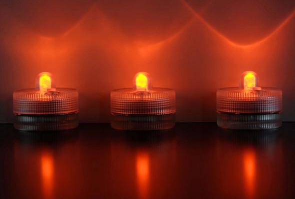 LED Submersible Floralyte, orange group