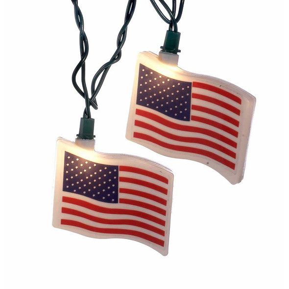 USA Flag Party Lights
