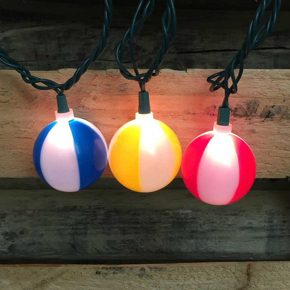 Beach Ball Party Lights (lit)