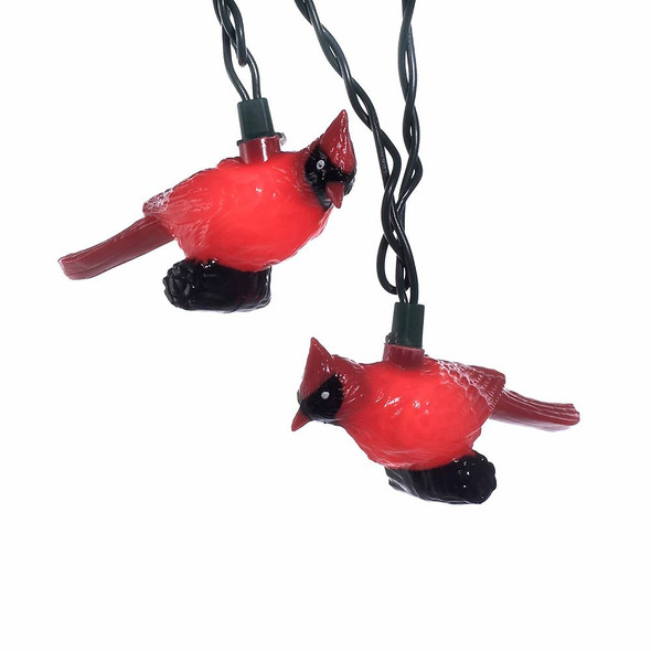 Cardinal Bird String Lights