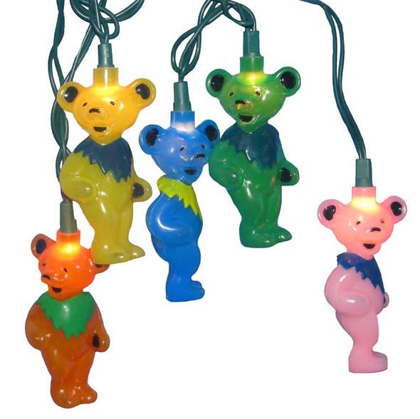 Grateful Dead Dancing Bear Lights
