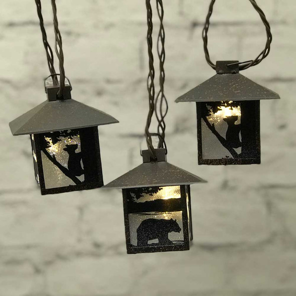 Bear Mini Lantern String Lights