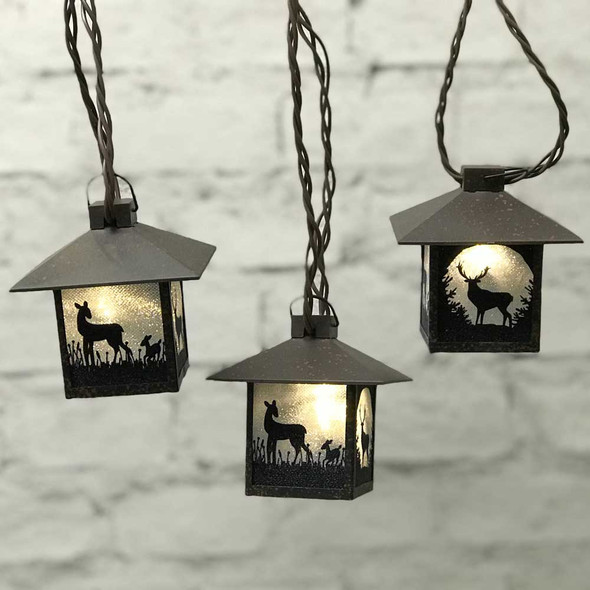 Deer Mini Lantern Lights