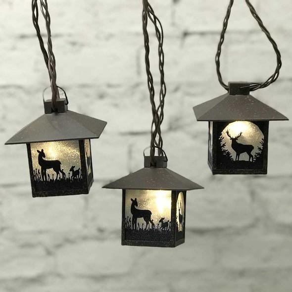 Deer Mini Lantern Lights