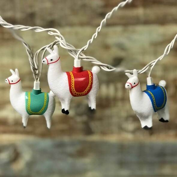 Llama Party Lights