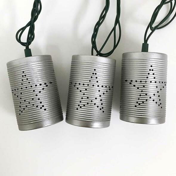 Tin Can String Lights (unlit)