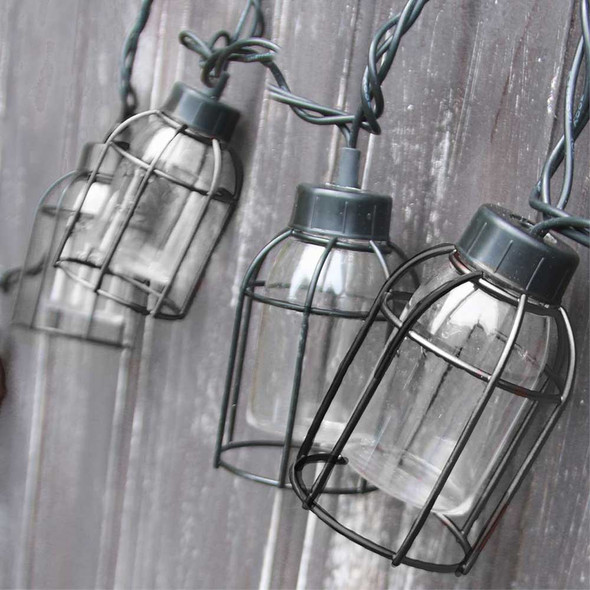 Vintage Cage String Lights