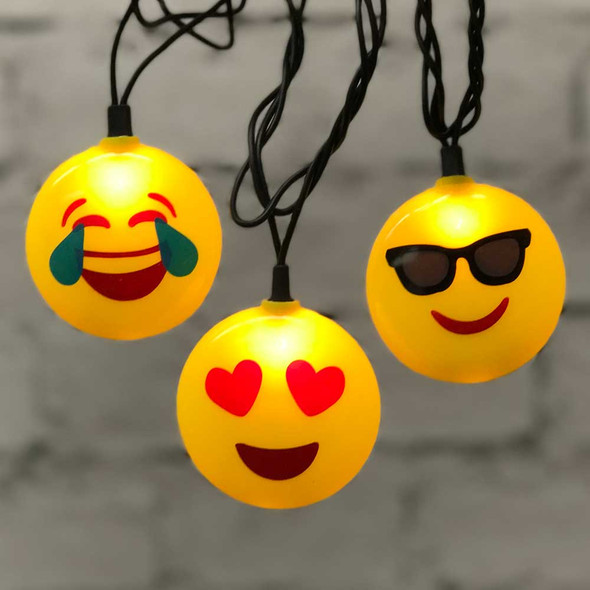Emoji String Lights