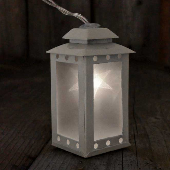 Battery Operated Lantern String Lights Single