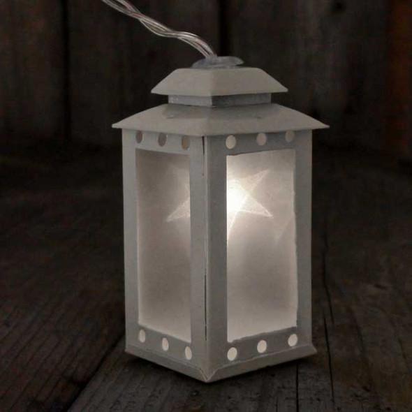Battery Operated Lantern String Lights Single