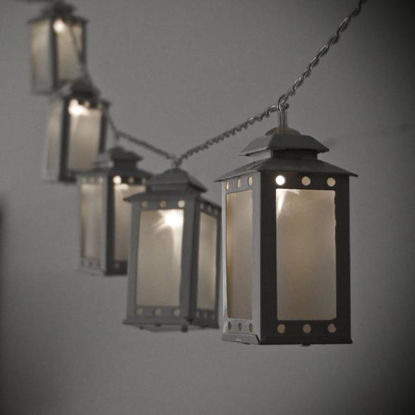 Battery Operated Lantern String Lights