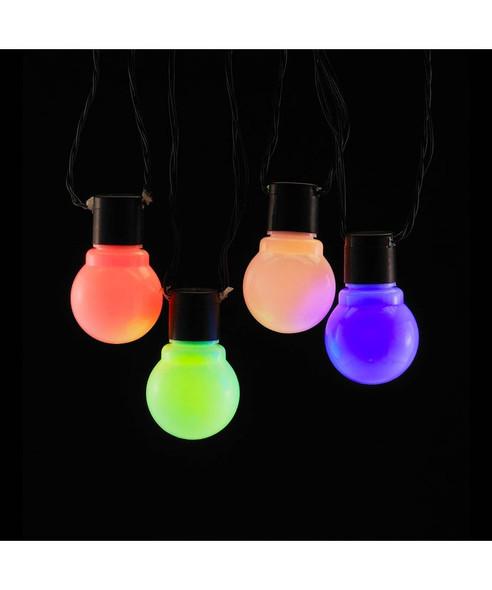 Old Time LED String Lights, Multi Color