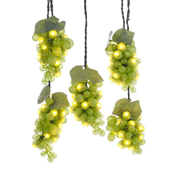 Grape Cluster String Lights