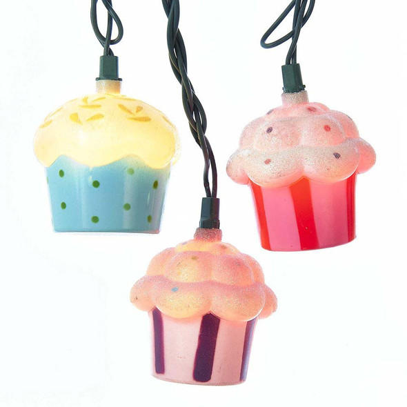 Cupcake Party String Lights