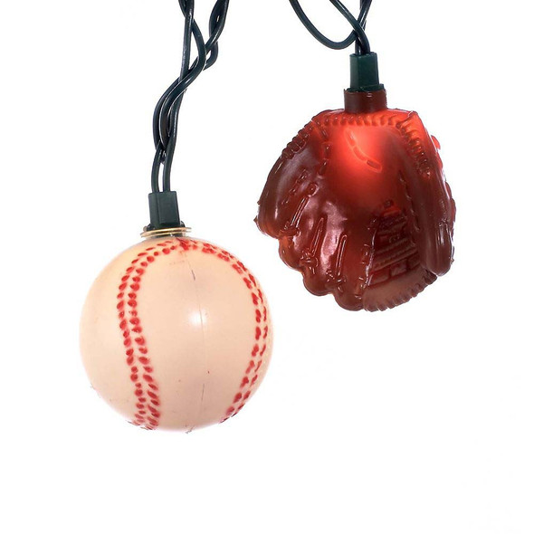 Baseball & Glove String Lights
