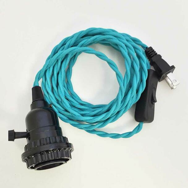 Turquoise Pendant Light Cord