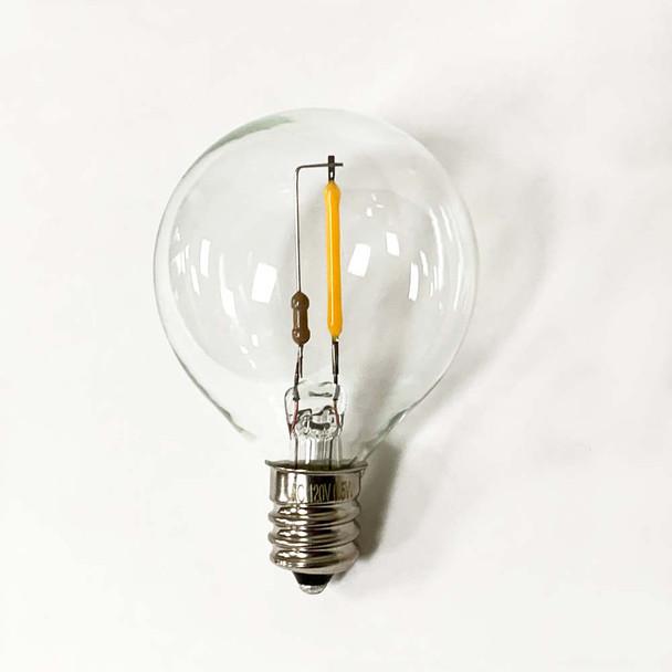 LED G40 Bulb, C7 base (unlit)