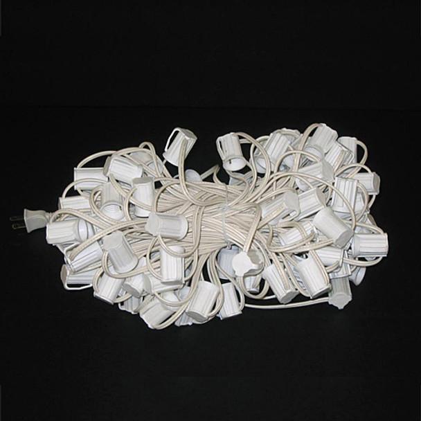 C9 String Light Cord - 100 foot white