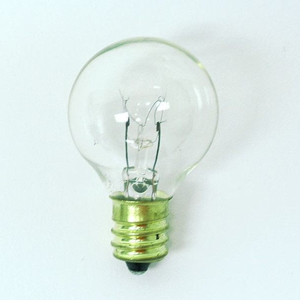 Clear G40 Bulb with C9 Base