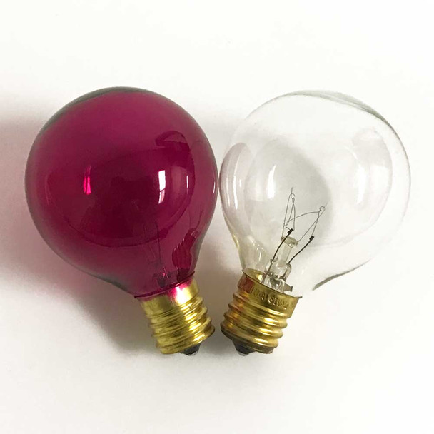 Pink & Clear G50 Replacement Bulbs