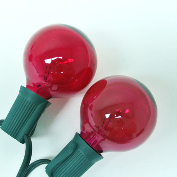 Pink G50 Replacement Light Bulbs