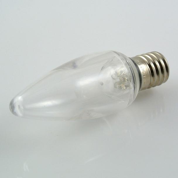 Warm White LED C9 Bulbs