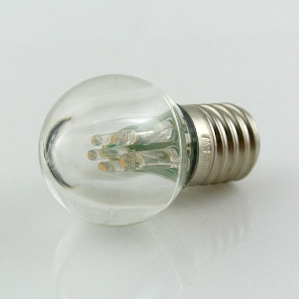C9 LED G30 Bulb, Warm White