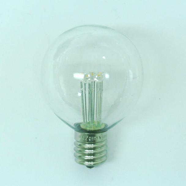 Premium LED G50 Bulb with C9 Base