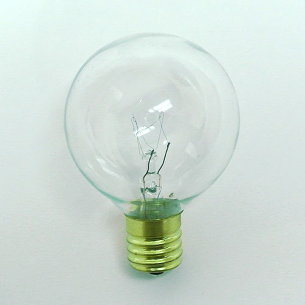 G50 Clear Bulb (C9 Intermediate Base)